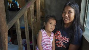 In the Philippines, Shirly Mendez, 41, was afraid to vaccinate her youngest child until a UNICEF-supported public health campaign persuaded her of the importance of immunization.