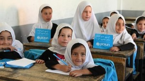 UNICEF works to make sure kids have the support they need to stay in school in Afghanistan.