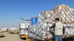 Sent from UNICEF's supply warehouse in Copenhagen, a shipment of more than 3 metric tons of supplies needed to fight the coronavirus arrived in Tehran, Iran on March 5, 2020.
