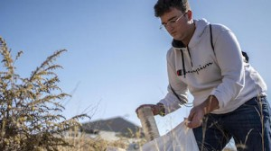 In Spain, 17-year-old environmental activist Juan cleans up the fields around his hometown, Almería.