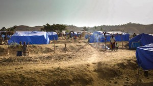 Gelabo IPD Camp in Ethiopia's Konzo Zone is one of six set up to house families displaced by violence in the region in late 2020.