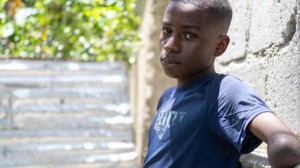 14-year-old Peterson was only 4 when he lost his arm in Haiti's 2010 earthquake. Eleven years later, his world was turned upside-down for the second time when a magnitude 7.2 earthquake struck southwest Haiti. on August 14, 2021.