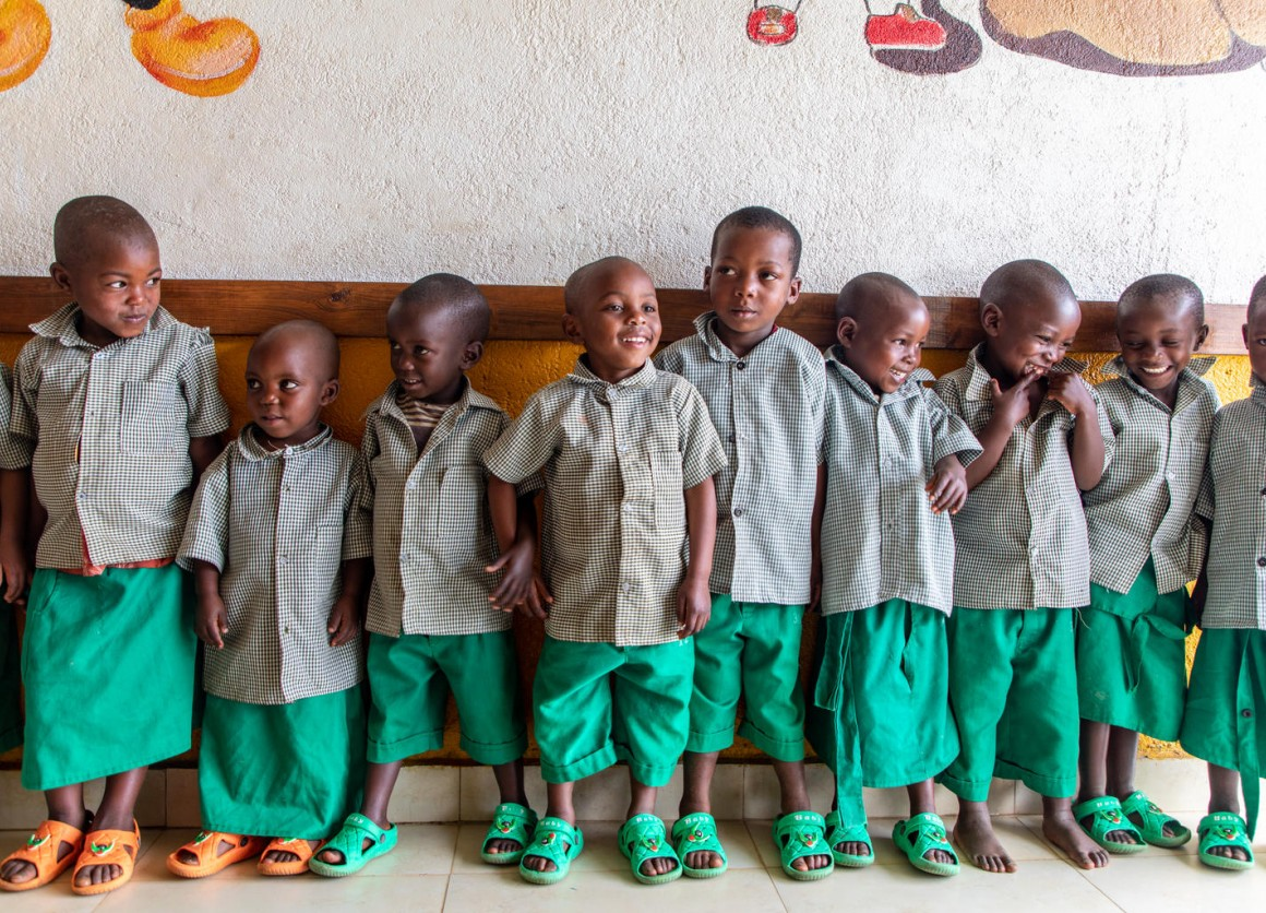 Since 2012, UNICEF has supported the Government of Rwanda to build early childhood development and care centers for children up to age 6. Each day care or learning center hosts up to 200 children.
