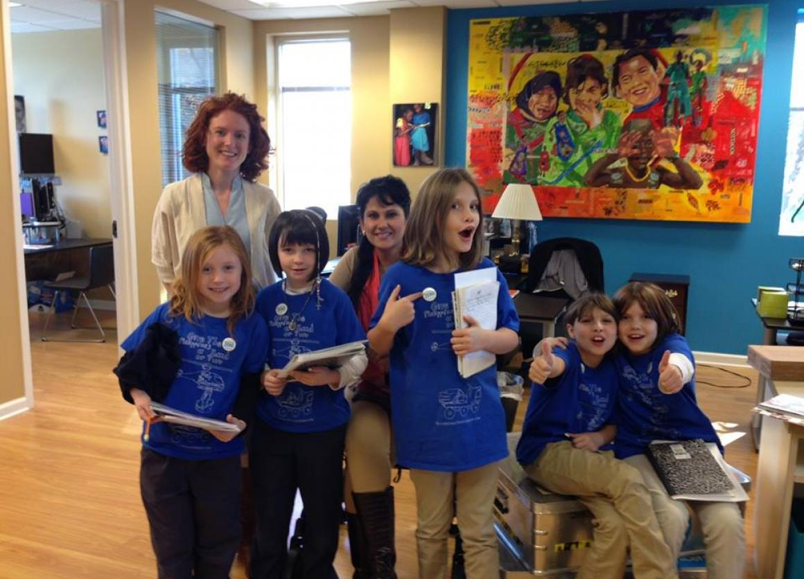 Riverstone Students Visit U.S. Fund for UNICEF