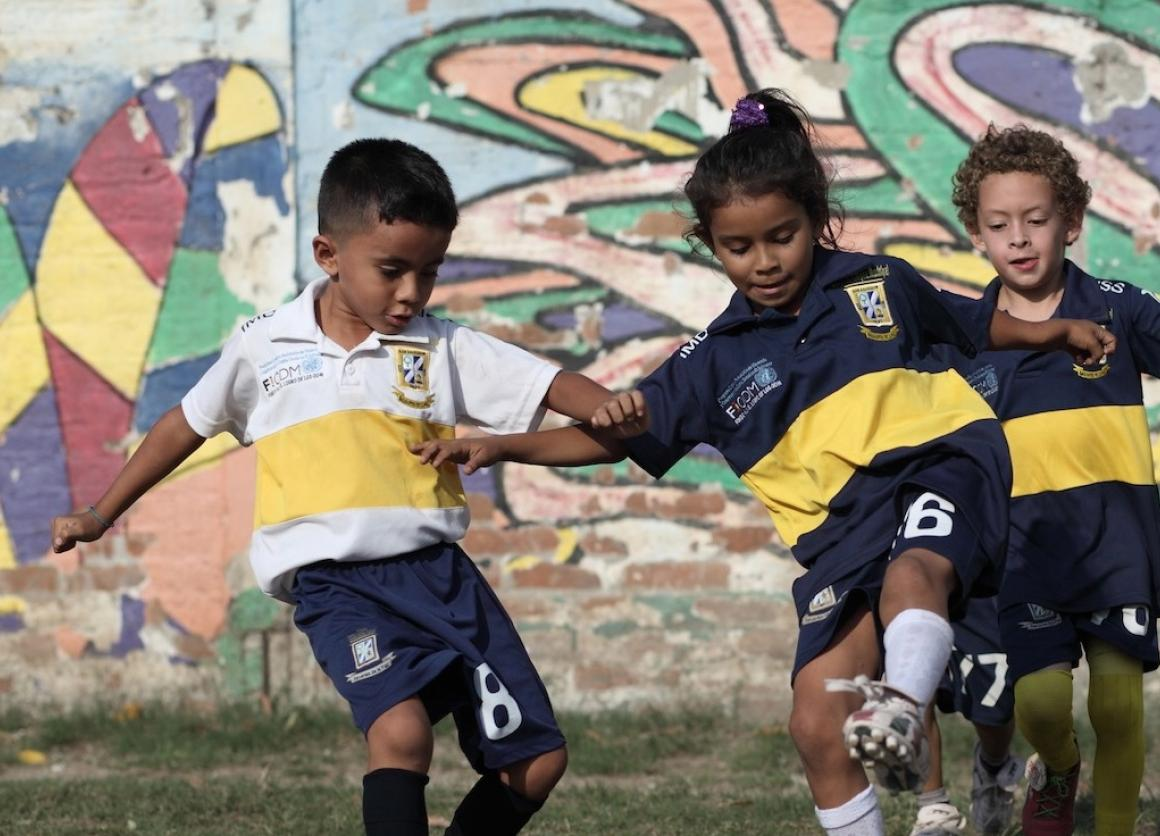 Children in El Salvador