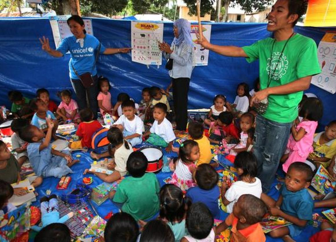 Typhoon Haiyan: Protecting Children from Trafficking and Abuse