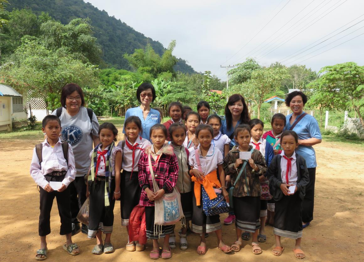 Kiwanis International field visit to Lao PDR, Nov 2014