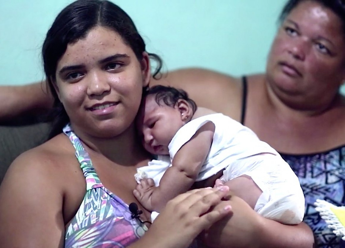 Meet Baby Duda, a Brazilian girl born with Zika-associated microcephaly