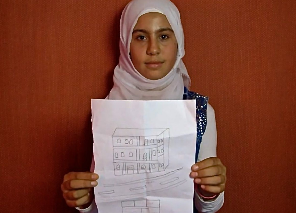 How Syrian Children Cope — Besan Tells Her Story