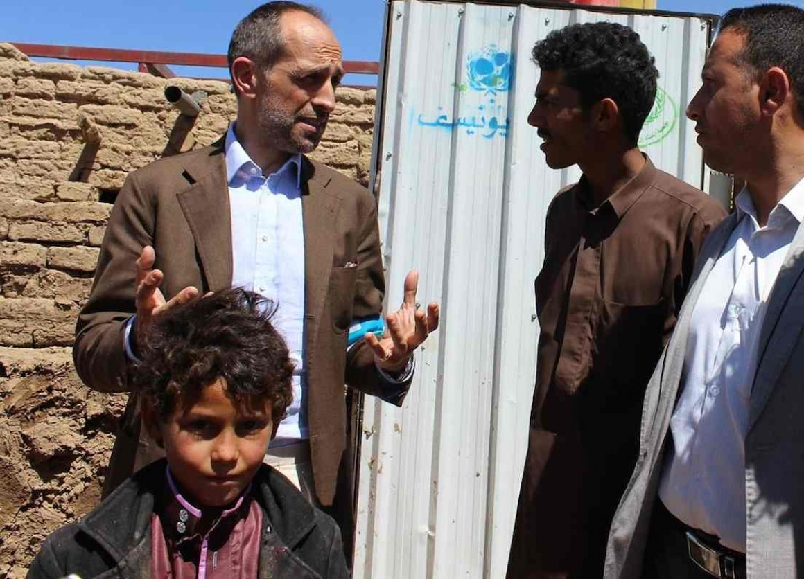 UNICEF's Yemen representative explains how we get aid to children in the war-torn country suffering food and water shortages.