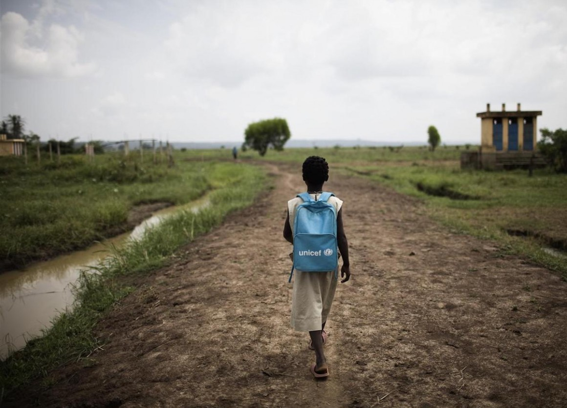 UNICEF is a global network active in 190 countries and territories — more than any other children's aid organization.