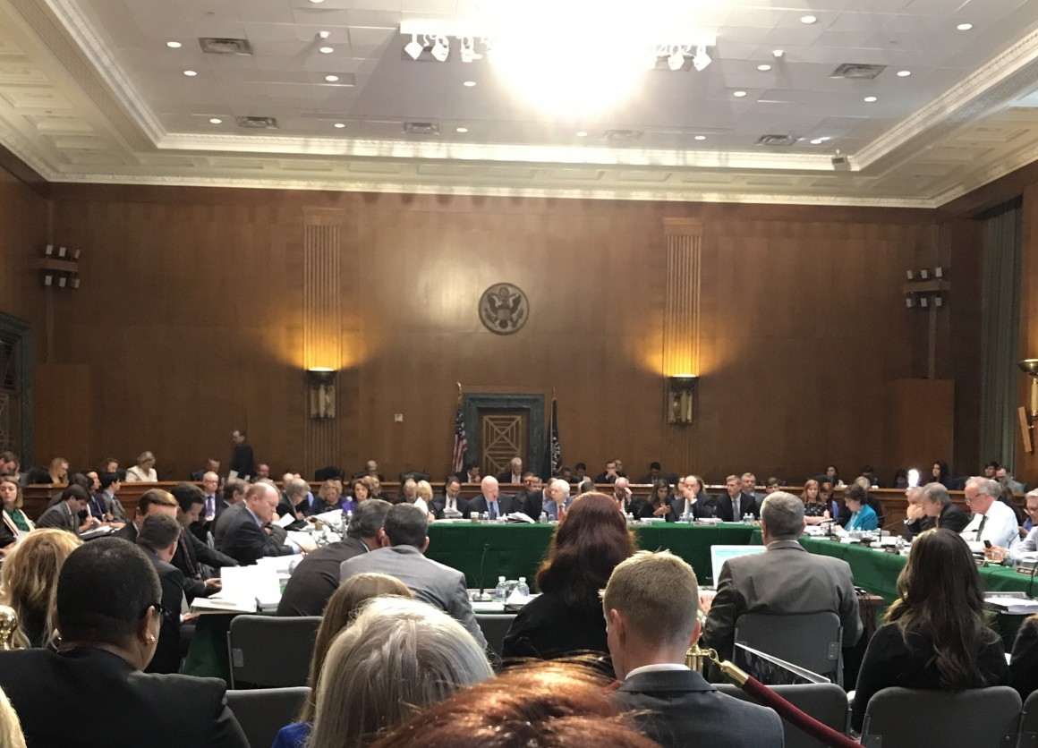 Senate State and Foreign Operations Subcommittee Markup of FY 2018 Appropriations
