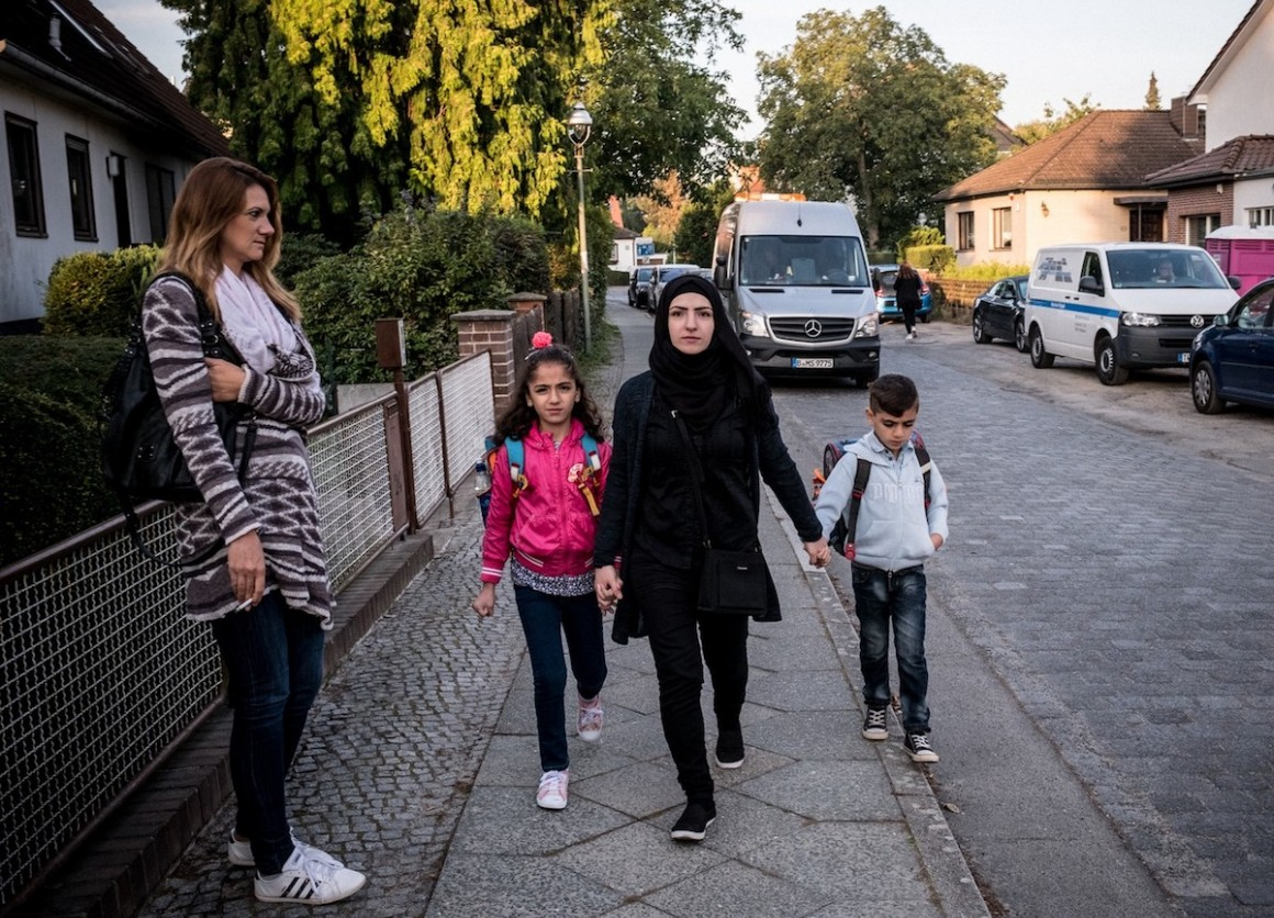 The Raslan family fled Homs, Syria in 2012. They are making a new life for themselves in Berlin.