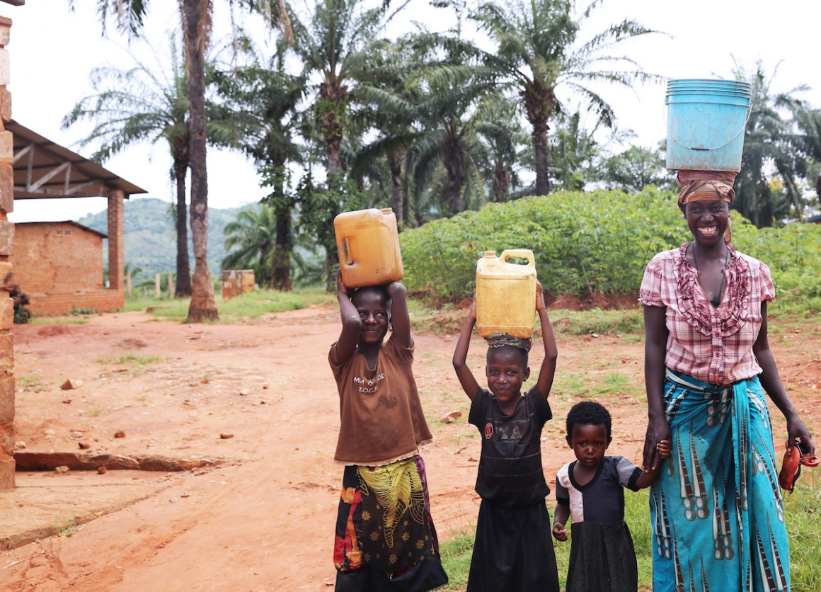 In Burundi, girls and women spend around 200 million hours every day gathering water.