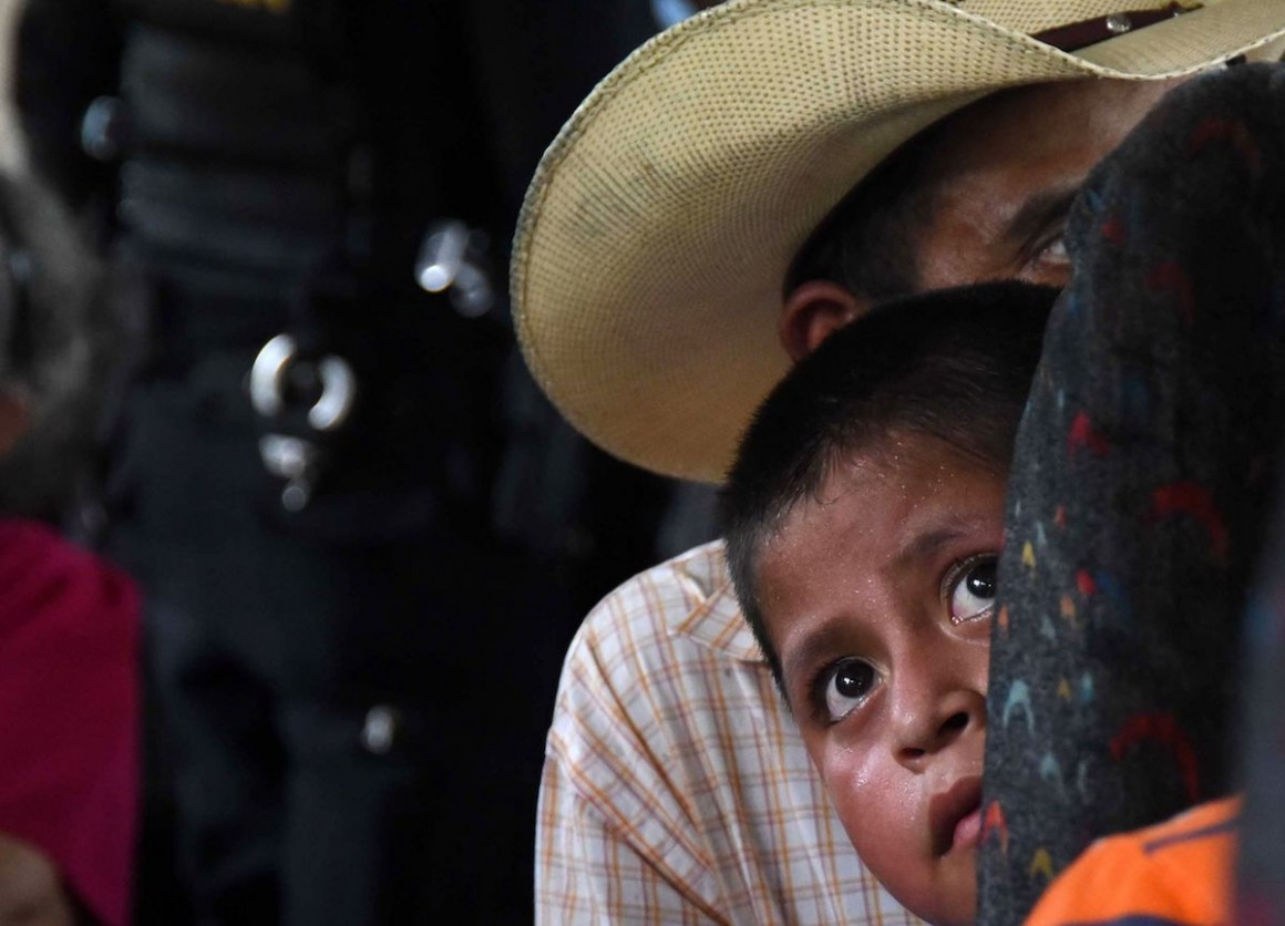 unicef, central american migrants