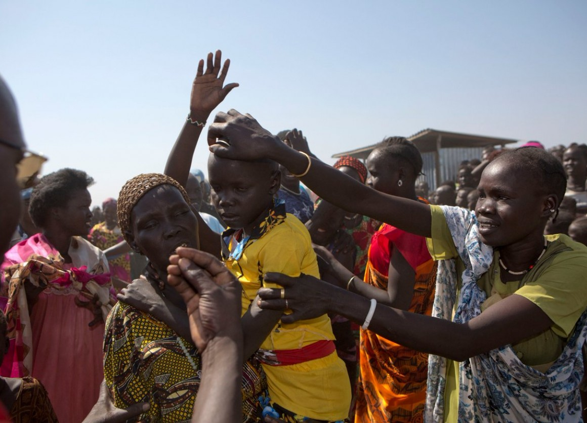 Joyful family members are reunited with their missing children in South Sudan, with help from UNICEF.