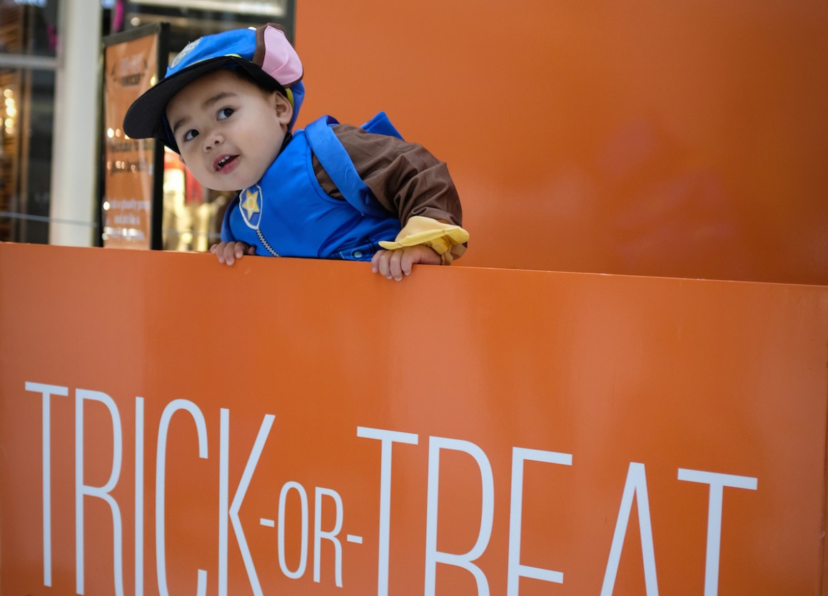 Kids get ready to trick-or-treat for UNICEF