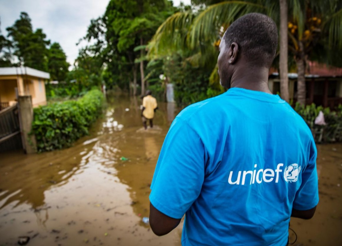 With hurricanes bearing down on the Carolinas, the Caribbean and Hawaii, UNICEF is poised to help children affected.