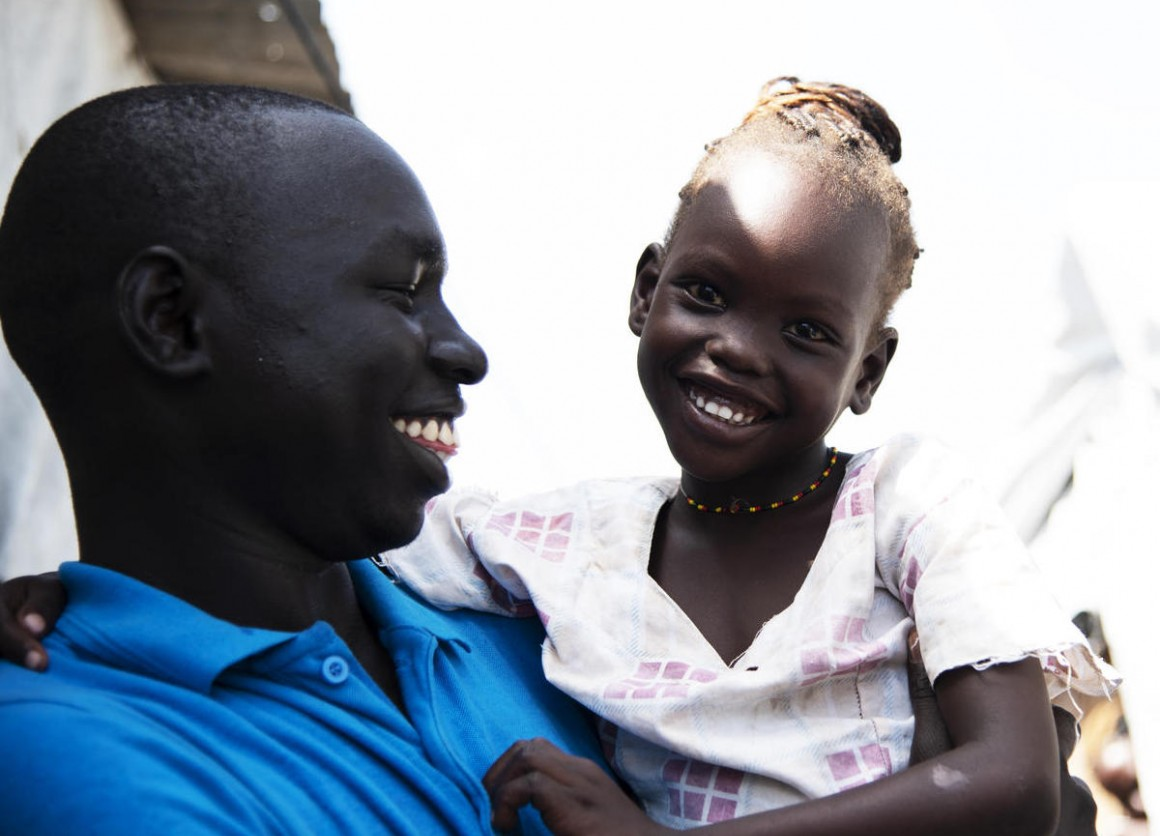 UNICEF, South Sudan, family reunification