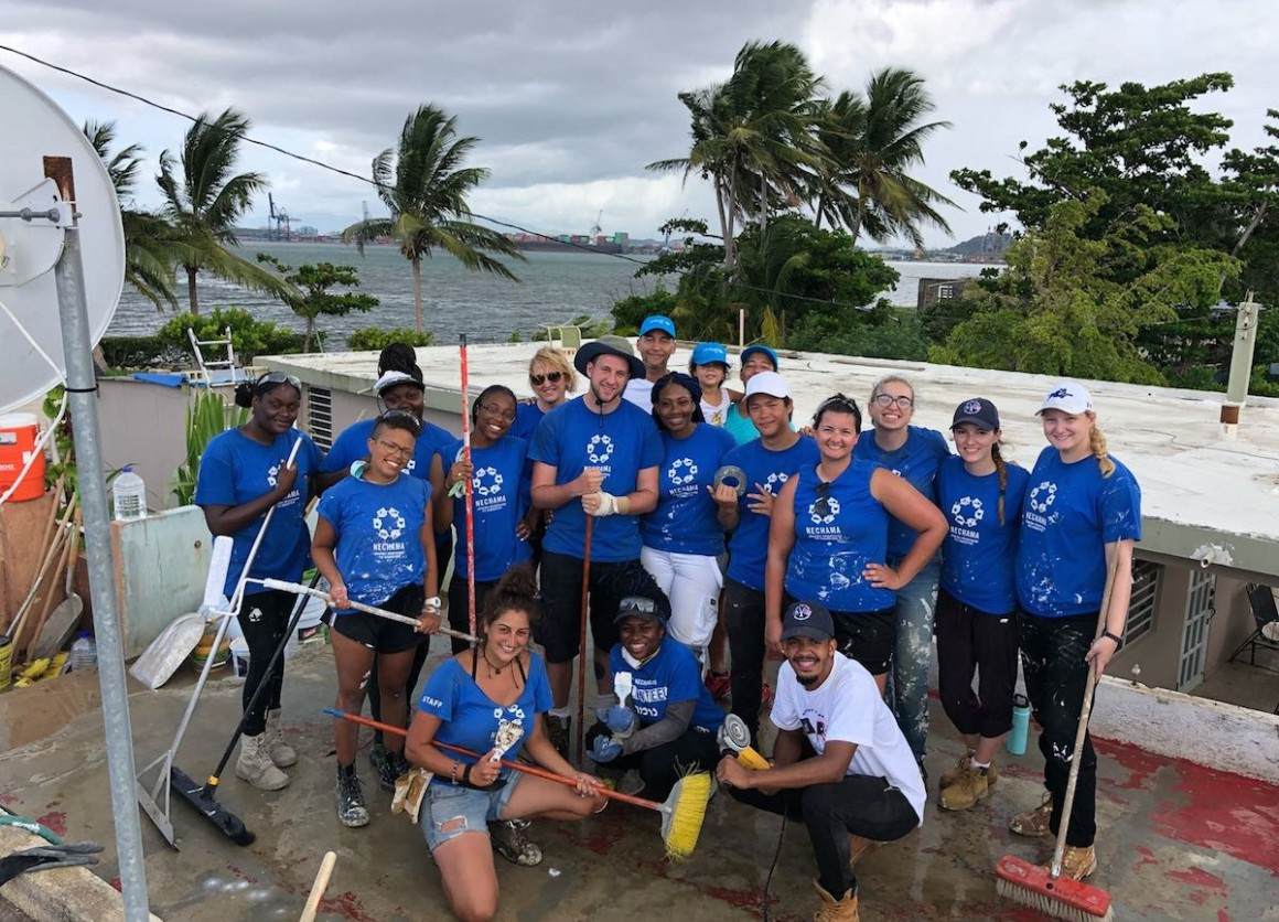 SUNY and CUNY college students rebuilding in Puerto Rico post-Hurricane Maria
