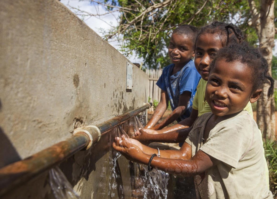 UNICEF and partners are expanding water infrastructure in Madagascar.