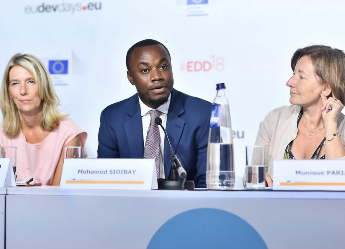 In June, Mohamed Sidibay joined a panel discussion during a day-long event dedicated to the protection of education in conflict organized by the Directorate-General for European Civil Protection and Humanitarian Aid Operations as part of the European Dev