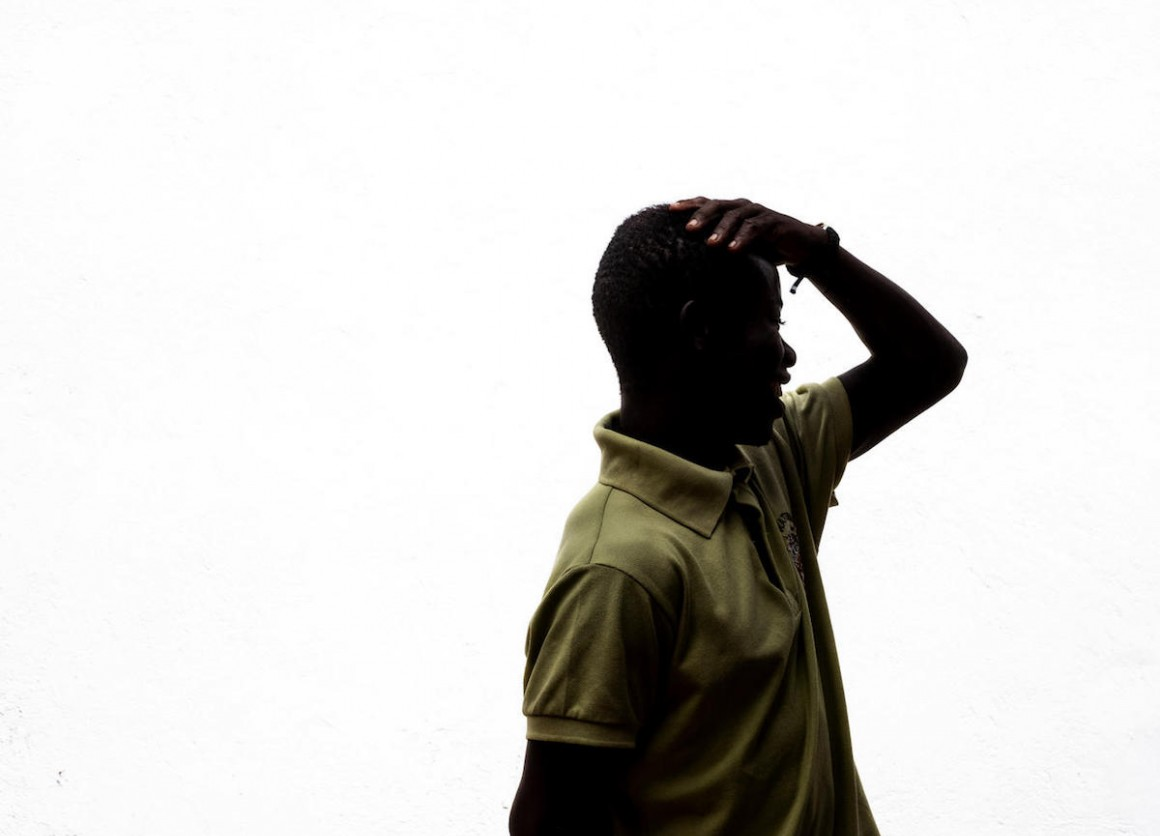 """Laurent,"" 20, a former child soldier in Central African Republic, was released with help from UNICEF."