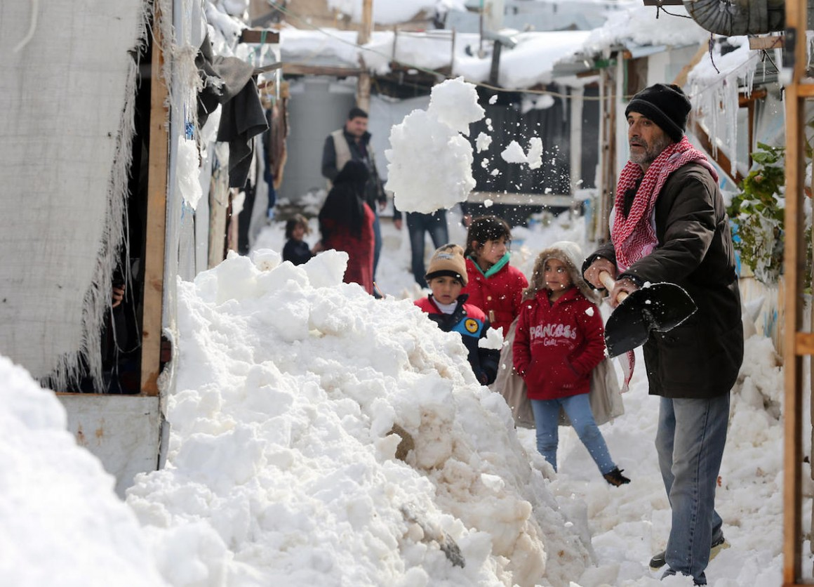 UNICEF, Lebanon, Syrian refugees, winter, winterization, humanitarian aid