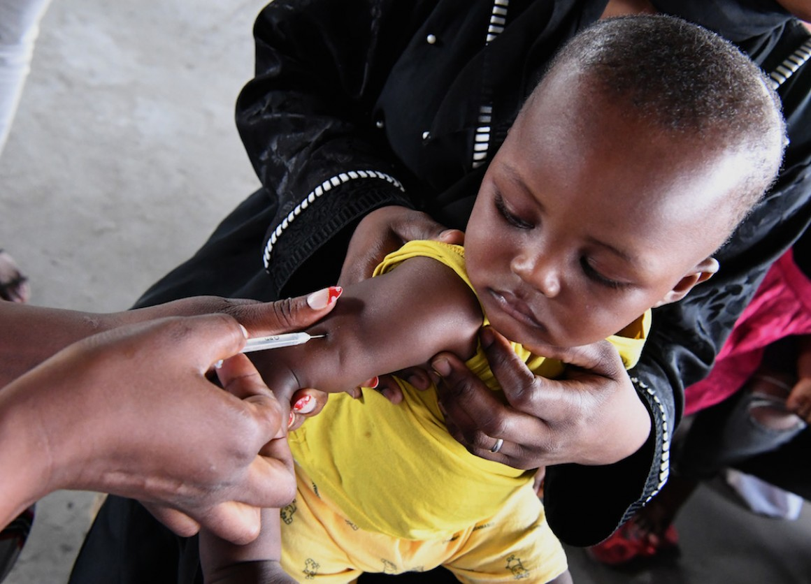 UNICEF works with partners to support efforts in countries to vaccinate children so they are protected against deadly diseases such as cholera, measles, meningitis and pneumonia.