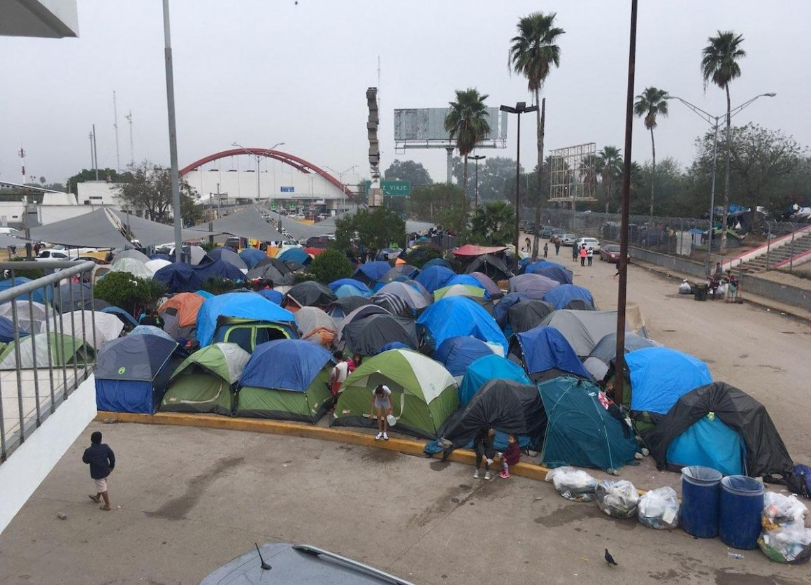 UNICEF is providing urgently needed support for migrant children and families living in a tent encampment in Matamoros, Mexico near the U.S. border.
