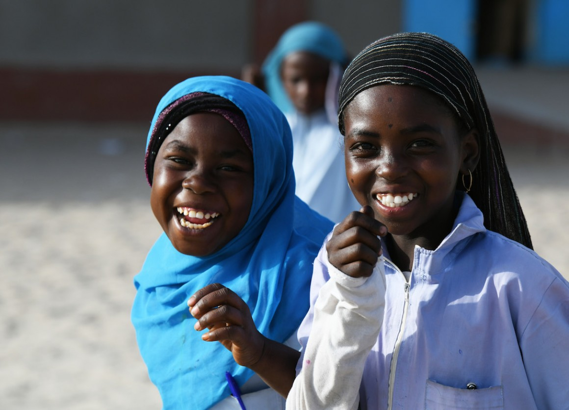 UNICEF works with partners around the world to improve opportunities for girls to attend school and complete an education so that they can reach their full potential.