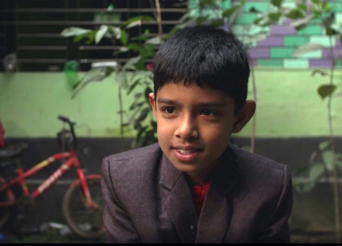 Anik, 8, of Bangladesh suffered the effects of lead exposure.