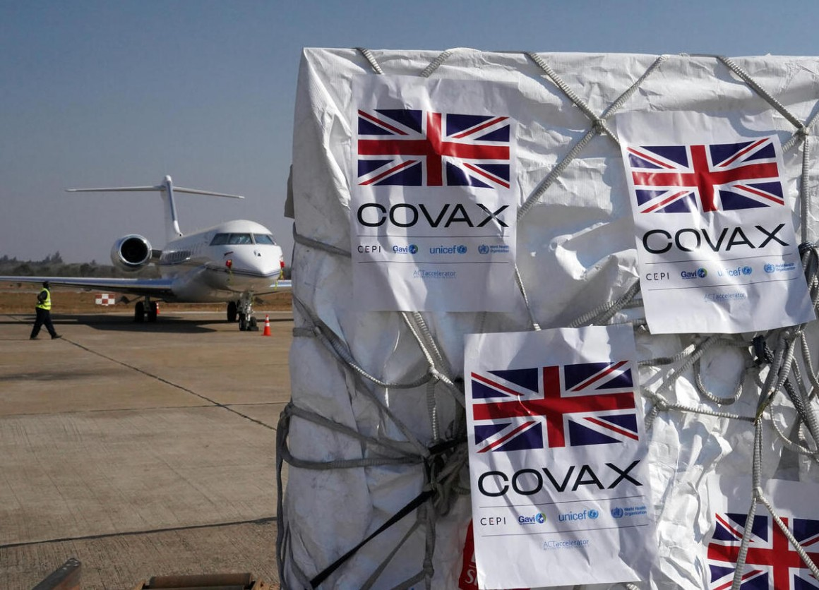 On August 13, 2021, 119,360 Astra-Zeneca COVID-19 vaccine doses donated by the UK government through the COVAX Facility arrived in Kenneth Kaunda International Airport in Lusaka, Zambia.