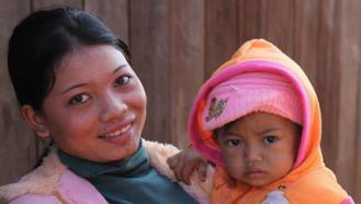 Urging mothers to get vaccinated and teaching proper antenatal and umbilical cord care has ended MNT in Cambodia