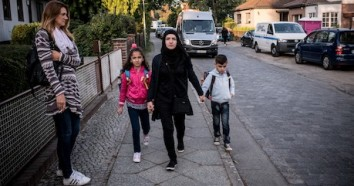 The Raslan family fled Homs, Syria after tanks and troops took over their neighborhood. They are making a new life for themselves in Berlin.