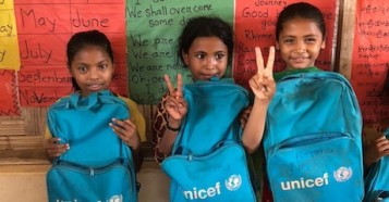 unicef, rohingya, bangladesh, myanmar, educating girls, educating children, humanitarian relief