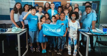 UNICEF, World Children's Day, Millie Bobby Brown