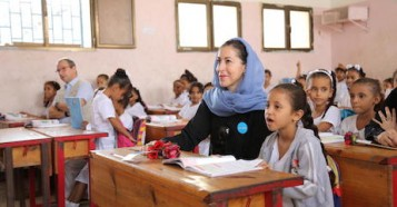 UNICEF, Yemen, humanitarian crisis, education, girls in school