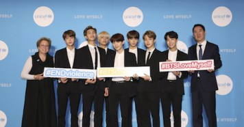 UNICEF, K-Pop, band
