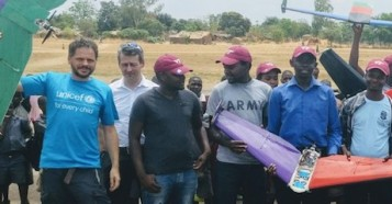 UNICEF and partners are testing drone technology for humanitarian missions in Malawi.