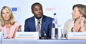In June 2018, former child soldier Mohamed Sidibay joined a panel discussion organized by the Directorate-General for European Civil Protection and Humanitarian Aid Operations.