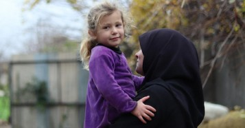 Having lost her husband, home and belongings to the conflict in Syria, Najla struggles to provide for her four children