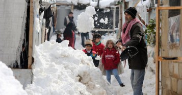 UNICEF, winter, Syrian refugees, Lebanon, humanitarian aid