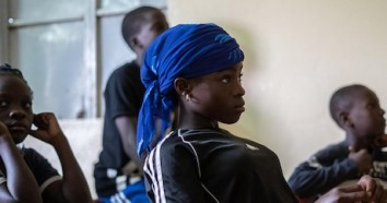 For Pascaline, a teenager living in a poor neighborhood in Niger's capital, Niamey, staying in school means the chance to play soccer and to make her own decisions about her future.
