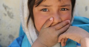 After 40 years of conflict, generations of children in Afghanistan — like this girl photographed in Daykundi Province in October 2019 — have no memory of peace.