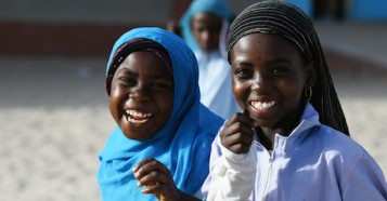 School girls in Chad.