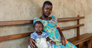 Elise and her daughter both recovered after catching the Ebola virus but lost other family members to the disease.