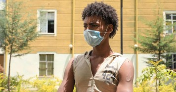 UNICEF helps unaccompanied child migrants like Berhan, 17, who left Ethiopia to find work but was captured by human traffickers in Yemen and held prisoner for five months.