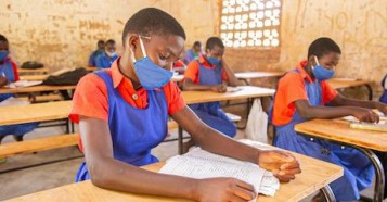 Desks provided through the K.I.N.D. Fund, a UNICEF-MSNBC partnership, make all the difference for students in Malawi, helping them to stay focused and learning — and one meter apart as required by COVID-19 prevention guidelines.