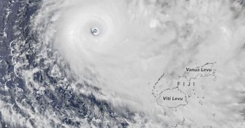 Tropical Cyclone Yasa made landfall in Bua, Vanua Levu, Fiji at 6 PM local time on December 17, 2020.